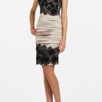 BCBGMAXAZRIA - SHOP BY CATEGORY: DRESSES: VIEW ALL: NATALYA STRAPLESS LACE COCKTAIL DRESS