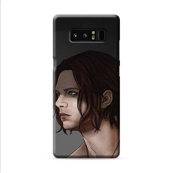 Bucky Barnes Art Civil War Samsung Galaxy Note 8 case