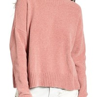 BP. Chenille Funnel Neck Sweater | Nordstrom