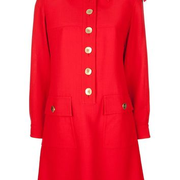 Yves Saint Laurent Vintage military dress
