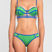 Indira Bikini in Blue/Green