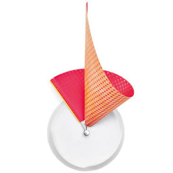 The Origami Clock - Hammacher Schlemmer