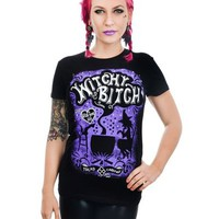Rat Baby Witchy Bitch Baby Doll Top Artist Adi Tread Carefuly honorary member