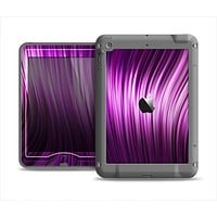 The Pink Vector Swirly HD Strands Apple iPad Air LifeProof Nuud Case Skin Set