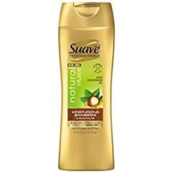 Suave Shampoo Natural Infusion Moisturizing 12.6 Ounce (372ml) (2 Pack)