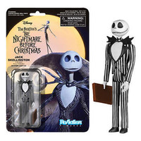 Nightmare Before Christmas Jack Skellington Smiling ReAction Action Figure