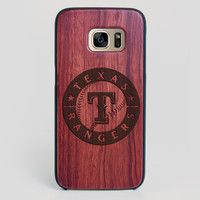 Texas Rangers Galaxy S7 Edge Case - All Wood Everything