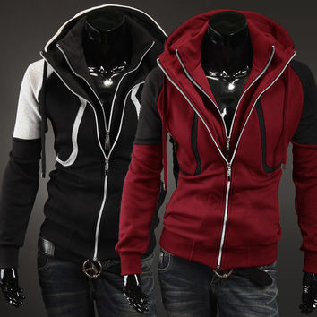 Men's Fashion Hoodies Men Casual Hats Hot Sale Jacket [6528675011]
