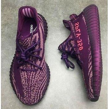 Trendsetter Adidas Women Men Yeezy 350 V2 Boost Trending Girl Boy Personality Leisure Sport Running Shoe Sneakers