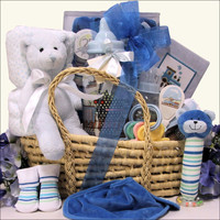 Baby Boy Essentials Baby Gift Basket