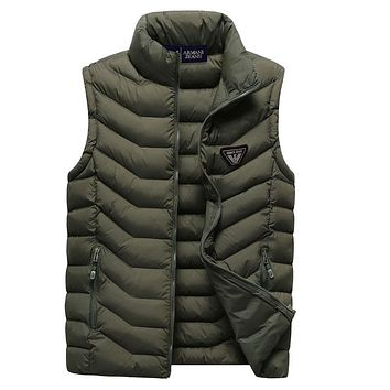Armani Women or Men Fashion Casual Sleeveless Cardigan Jacket Coat Windbreaker