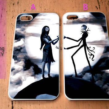 jack and sally for iPhone 4 / 4S / 5 / 5S / 5C Case, Samsung Galaxy S3 / S4 / S5 case