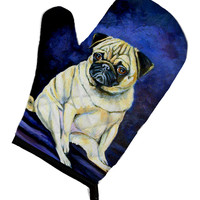 Fawn Pug Penny for your thoughts Oven Mitt 7026OVMT