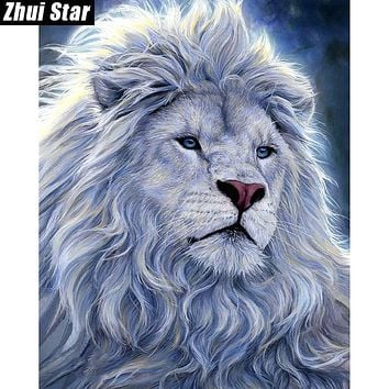 "Zhui Star Full Square Drill 5D DIY Diamond Painting ""lion king"" 3D Embroidery set Cross Stitch Mosaic Decor gift VIP"
