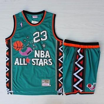 NBA 1996 All Star Game Michael Jordan Basketball Jersey & Short Set  - Best Deal Online