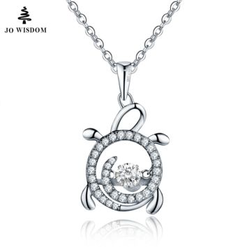 Trendy Fire Mystic Topaz Pendant 925 Sterling Silver Necklace for Women with Round Natural Topaz Gemstones Fashion Women Jewelry