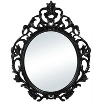 Better Homes and Gardens Baroque Oval Wall Mirror - Walmart.com