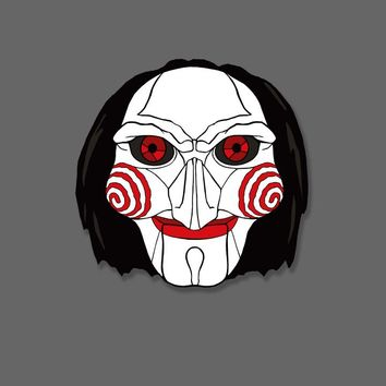 Jigsaw - Jigsaw Enamel Pin - Billy - Fright-Rags