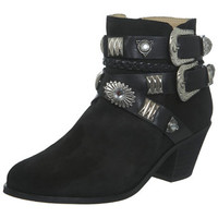 INSPIRED BY Suede Black Boot - Boots  - Shoes