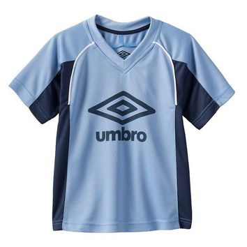 Umbro Colorblock Mesh Soccer Jersey - Boys