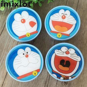 IMIXLOT Hot Sale Cartoon Contact Lens Case With Mirror Plastic Contact Lenses Box With Tweezers Cosmetic Box