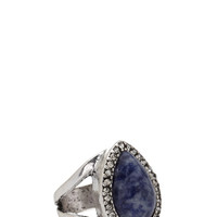 Faux Stone Cutout Ring