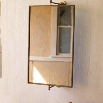 Square Tilting Wall Mirror
