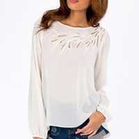 Kalista Embroidered Top $33