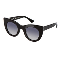 THIERRY LASRY BLACK CAT-EYE ORGASMY SUNGLASSES