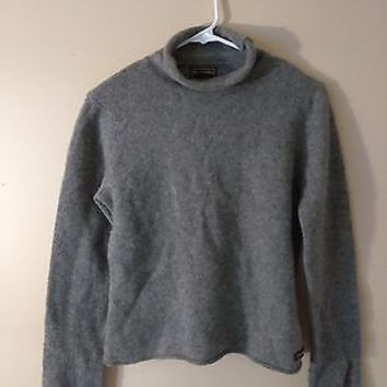 ABERCROMBIE AND FITCH wool turtle neck sweater size large unisex