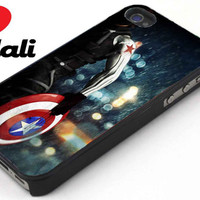 Winter Soldier iPhone 4/4s, 5, 5s, 5c, Samsung S2, S3, S4, iPod 4, 5