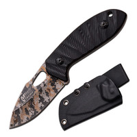 "M-Tech USA Xtreme Fixed Knife 6.1"" -Laser Digital Camo Blade"