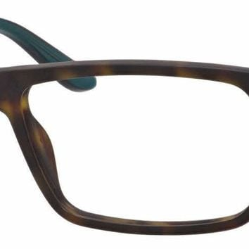 Carrera - Ca 6643 Havana Green Eyeglasses / Demo Lenses