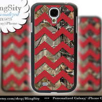 Camo Red Chevron Galaxy S4 case S5 Real Tree Camo Deer Personalized RealTree Samsung Galaxy S3 Case Note 2 3 Cover