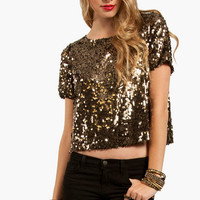 Moonlight Sequin Top