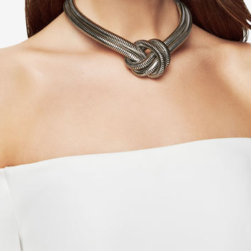 Knotted Snake Chain Choker