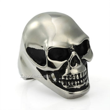 Huge Skull Ring - Stainless Steel