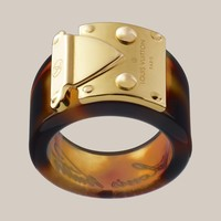 Lock Me Ring - Louis Vuitton fashion-jewelry - LOUISVUITTON.COM