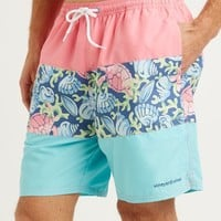 Paneled Bungalow Shorts