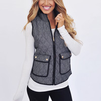 Herringbone Pocket Vest
