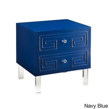 Chic Home Plato Lacquer Acrylic/ MDF Lucite Leg Side Table | Overstock.com Shopping - The Best Deals on Coffee, Sofa & End Tables