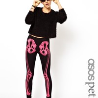 ASOS Petite | ASOS PETITE Exclusive Skeleton Leggings at ASOS