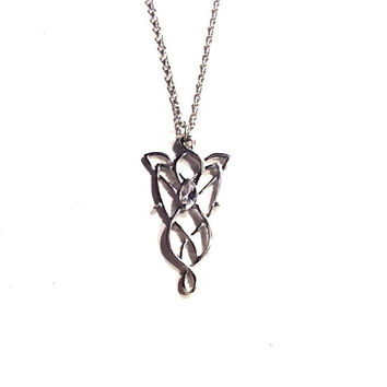 Lord of the Rings Elvish Queen Necklace