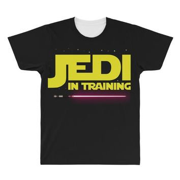 Jedi Master - Jedi in Training Family Matching All Over Men's T-shirt