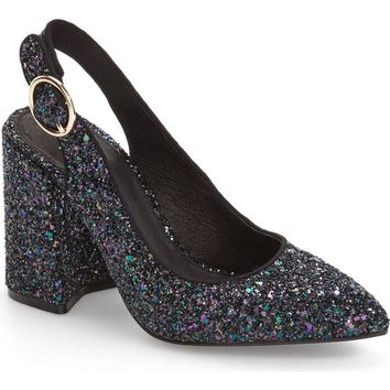Jeffrey Campbell Tonight Sequined Bow Pump (Women) | Nordstrom