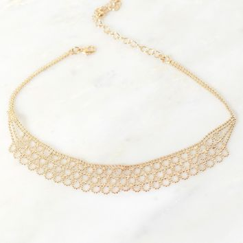 A Chance of Chain Choker Gold