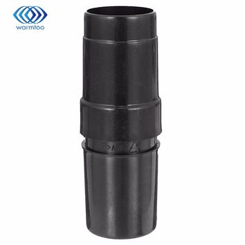 28mm to 32mm Plastic  Black ABS Converter Attachment Hose Adapter for Vacuum Cleaner New