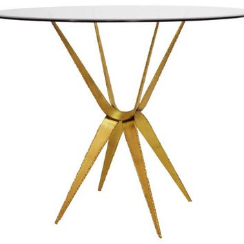 Worlds Away Ramona Sculptural Cafe Table