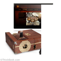 Steam-Powered Gaming Cabinet