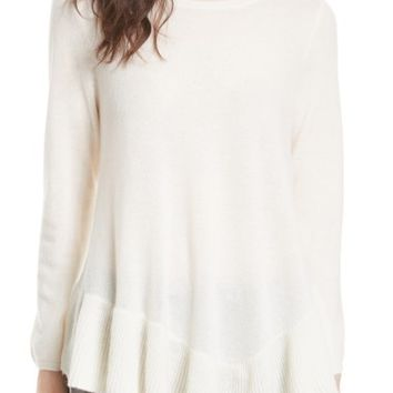 Joie Tambrel N Wool & Cashmere Asymmetrical Sweater Tunic | Nordstrom